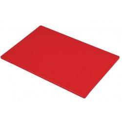 Hygiplas snijplanken economy 12mm rood