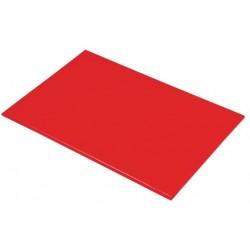 Snijplank Professional 45x30x1.2cm rood