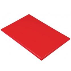 Professionele snijplank 45x30x2.5cm rood