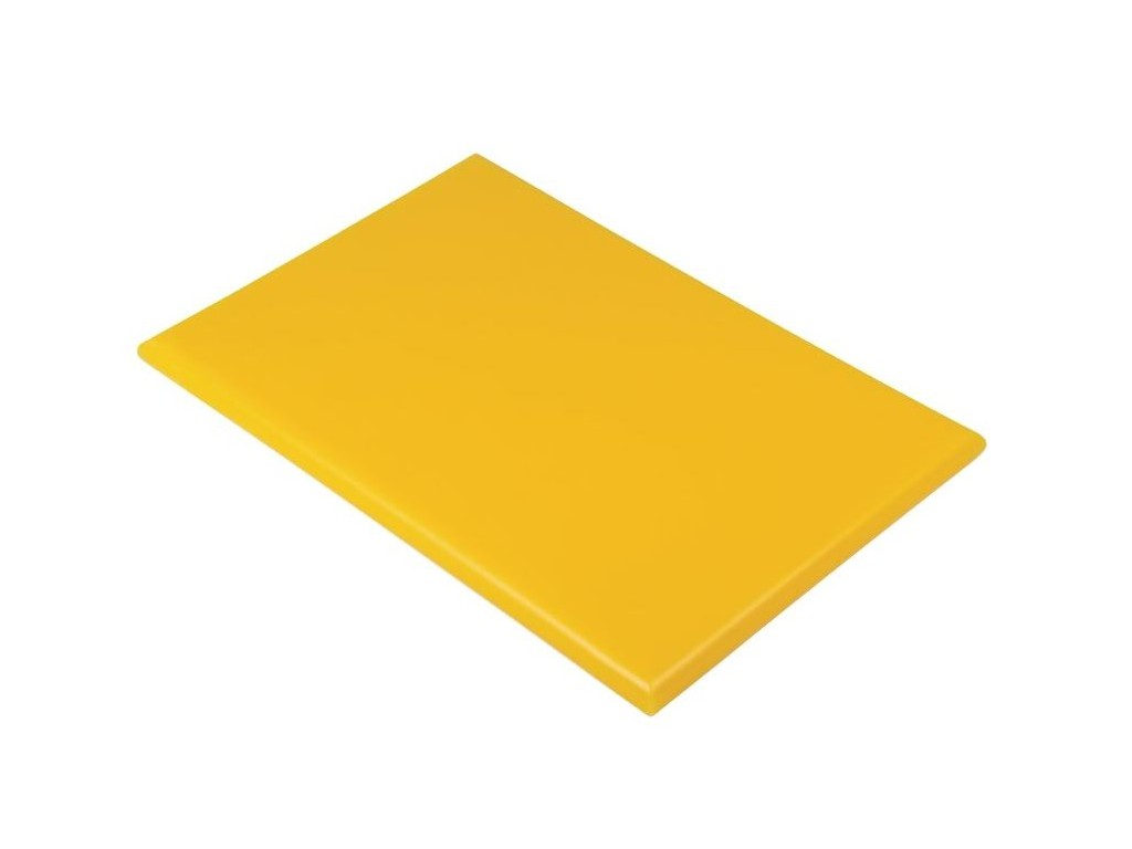 Professionele snijplank 45x30x2.5cm geel | Snijplank.com