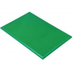 Professionele snijplank 45x30x2.5cm groen