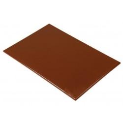 Anti/bacterie snijplank 46x30x1.3cm bruin