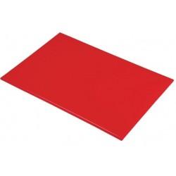 Anti/bacterie snijplank 46x30x1.3cm rood