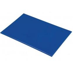 Anti/bacterie snijplank 46x30x1.3cm blauw