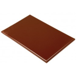 Professionele snijplank 45x30x2.5cm bruin