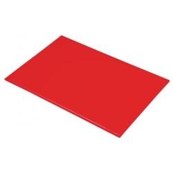 Snijplank HDPE 60x45x1.2cm rood
