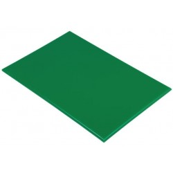 Snijplank HDPE 60x45x1.2cm groen