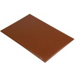 Snijplank HDPE 60x45x1.2cm bruin