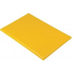 Professionele HDPE snijplank 60x45x2.5cm geel