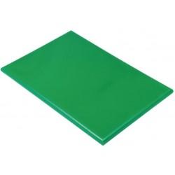 Professionele HDPE snijplank 60x45x2.5cm groen
