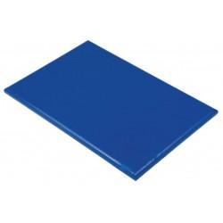 Professionele HDPE snijplank 60x45x2.5cm blauw