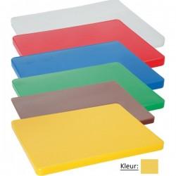 Snijplank HACCP 600x400mm geel