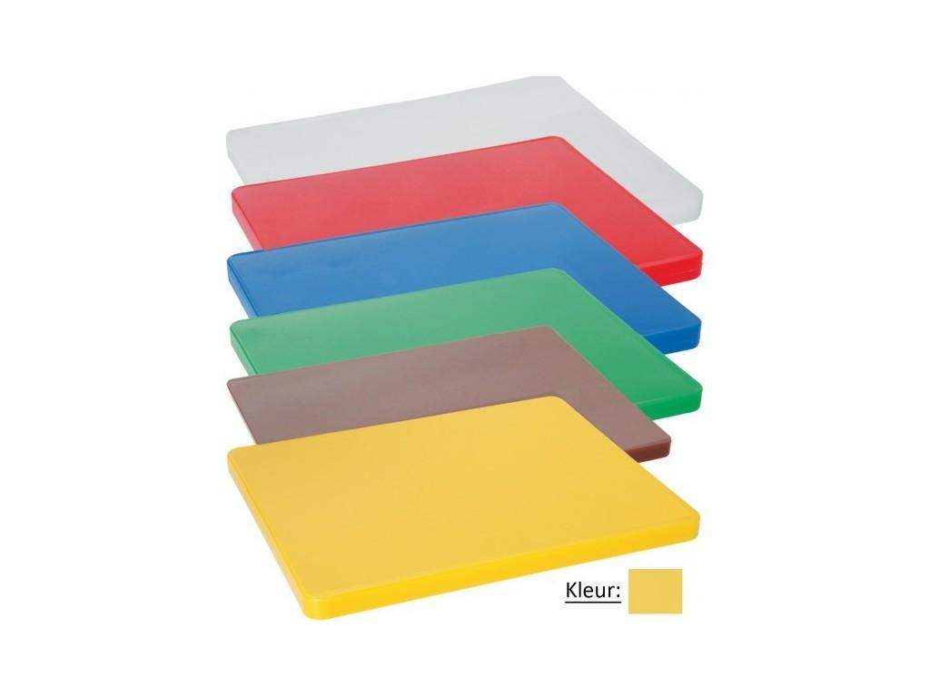 Snijplank HACCP 600mm geel