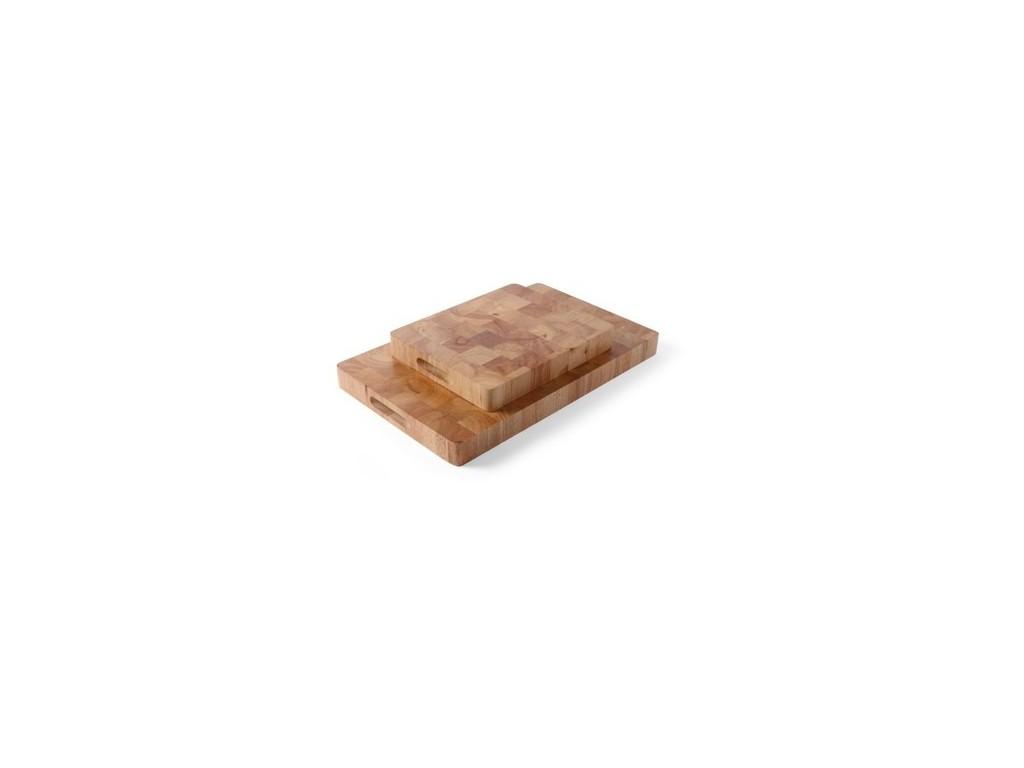 Snijplank GN 1/2 Rubberwood